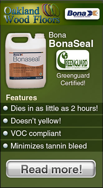 Bona Bonaseal – Features