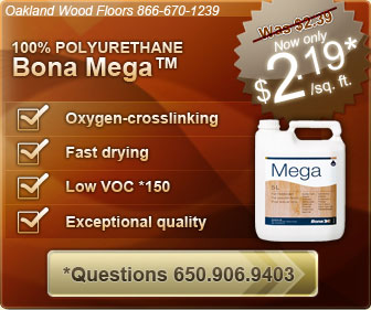 Bona Mega WAterborne floor coatings