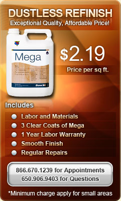 Bona Mega Dustless refinishing special