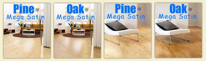 How Bona Mega Look in the hardwood floors